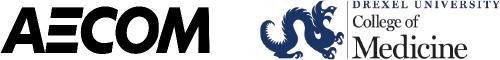 AECOM and Drexel University, College of Medicine Logos