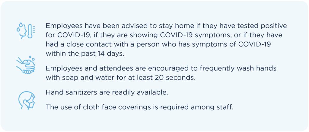 List of General Precautions