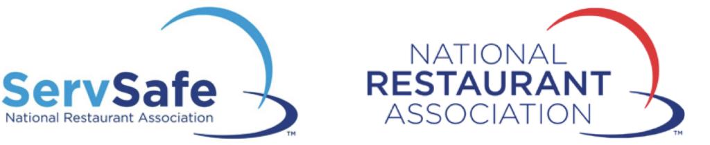 ServSafe and National Restaurant Association logos